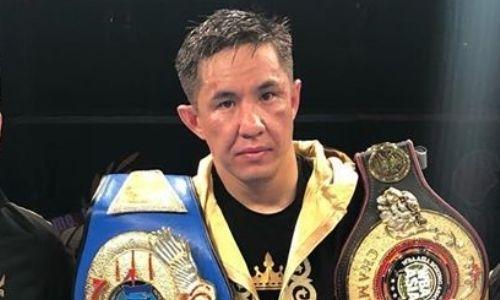 «Мне трудно было дышать». Казахстанский тяжеловес рассказал, как узбек отправил его в нокдаун и сломал нос, но он поднялся и досрочно выиграл бой за титулы WBC и WBA