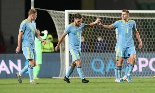Стало известно, сколько замен сможет делать сборная Казахстана в Лиге наций