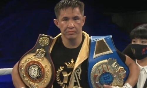 «Не могу понять». Заслуженный тренер оценил победу казахстанского нокаутера над узбеком в бою за титулы WBC и WBA