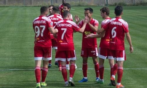 «Актобе» одержал крупную победу в матче Первой лиги
