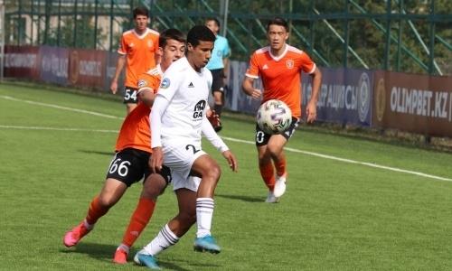 «Атырау» одержал волевую победу в матче Первой лиги