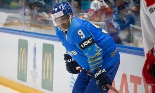 Бывший капитан «Барыса» и игрок сборной Казахстана вошел в ТОП-10 худших игроков недели КХЛ