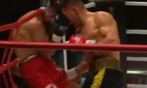 «Даже мне больно». Казахстанский боксер нещадно раскритикован соотечественниками за удары россиянина в пах. Видео