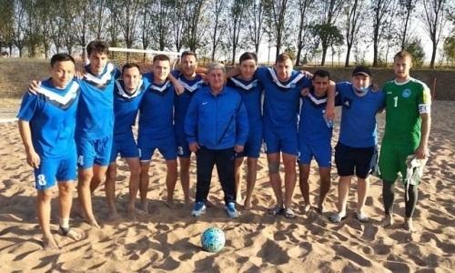 «Арман» в 12-й раз стал чемпионом Казахстана по пляжному футболу