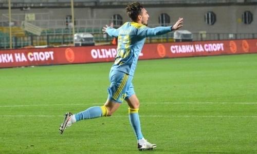 Определён лучший игрок матча «Астана» — «Жетысу» по версии Instat
