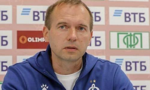 Бывший футболист «Иртыша» будет исполнять обязанности главного тренера московского «Динамо»
