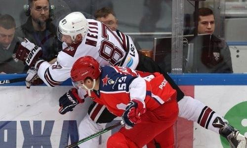 Второе техническое поражение подряд получил соперничающий с «Барысом» клуб КХЛ
