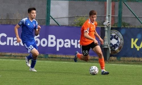«Шахтер-Булат» и «Акжайык» не выявили победителя в матче Первой лиги