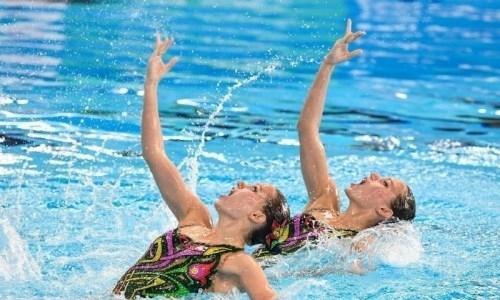 Сборная Казахстана по артистическому плаванию проводит УТС в Алматы