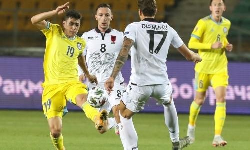 Хоть не проиграли. Сборная Казахстана сыграла вничью с Албанией в Лиге наций