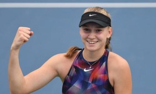 Сильнейшая теннисистка Казахстана приблизилась к вылету из ТОП-20 рейтинга WTA