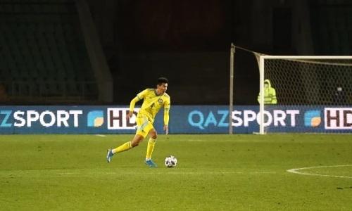 Вместе с Рамосом, Холанном, Эдегором. Игрок сборной Казахстана попал в символическую сборную тура Лиги наций