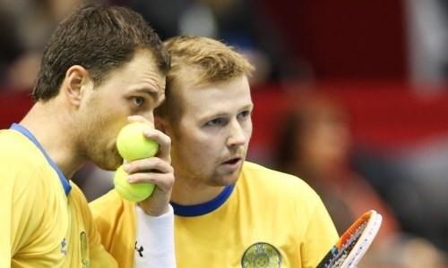 Казахстанские теннисисты в паре уступили на турнире в Кальяри