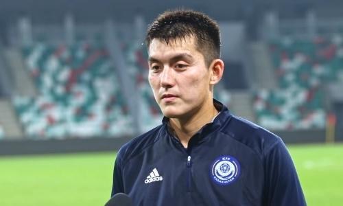 «Дальше больше». Молодой футболист оценил свой первый вызов в сборную Казахстана