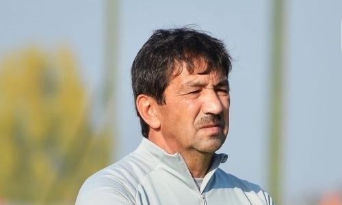 Экс-тренер «Рубина» начал работу в «Астане»