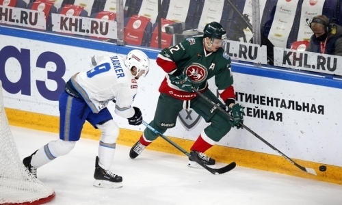 «Вязкая игра с обилием борьбы». КХЛ назвала героя матча «Ак Барс» — «Барыс»