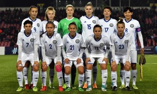 Стал известен состав женской сборной Казахстана на отборочный матч ЕВРО-2021 с Сербией