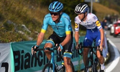 «Очень сложный день в горах». Лидер «Астаны» прокомментировал итог 15-го этапа «Джиро д'Италия»