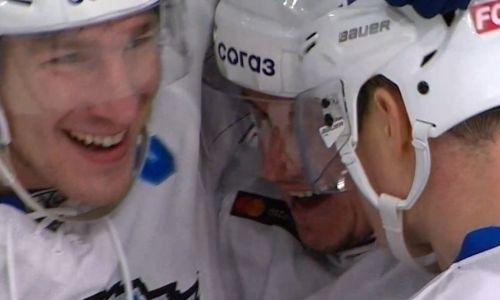 Принесшая победу шайба Старченко в матче «Ак Барс» — «Барыс» вошла в ТОП-10 лучших голов недели КХЛ