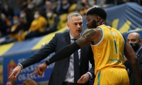 Главный тренер «Астаны» раскрыл секрет исторической победы над «Химками»