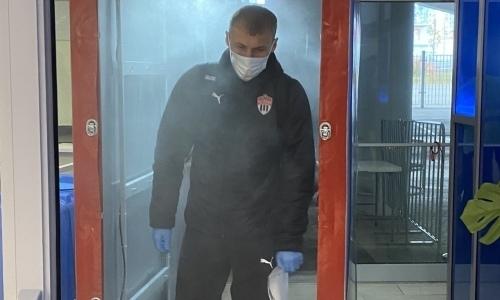 «Химки» сумели уйти от позора после ухода Куата с поля в Кубке России