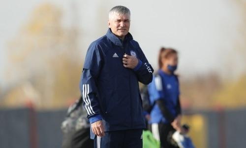 «Немного усложнили тренировки». Наставник женской сборной Казахстана рассказал о подготовке к матчу отбора ЧЕ-2022
