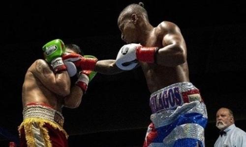 Побитый казахстанцами двукратный чемпион мира из Кубы оформил нокаут в первом раунде. Видео