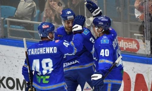 «Барыс» нанес одно из девяти крупнейших поражений ТОП-клубам КХЛ. Видео