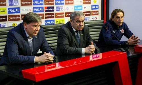 Казахстанский футболист познакомился с новым главным тренером в российском клубе