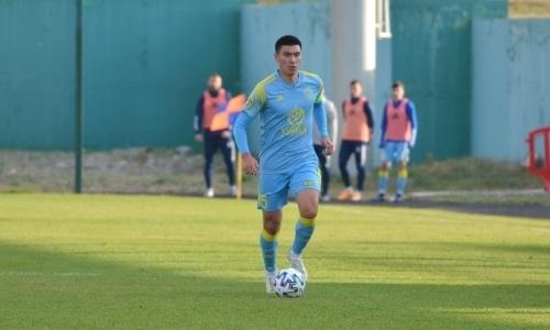 Футболист «Астаны» и сборной Казахстана сыграл 250-й матч в Премьер-Лиге