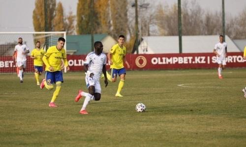 Сенегальский полузащитник «Ордабасы» забил 35-й мяч в Премьер-Лиге