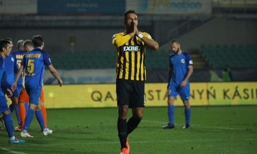 Эсеола забил 30-й мяч за «Кайрат»