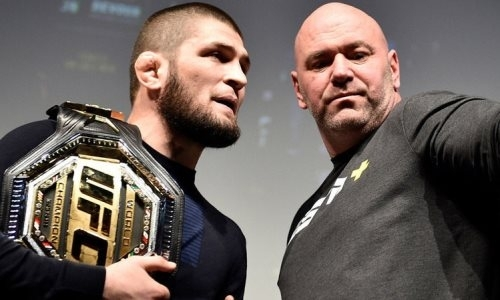 Президент UFC оценил вероятность возобновления карьеры Хабиба Нурмагомедова