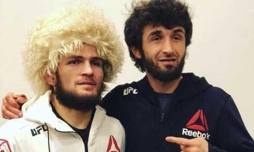 Магомедшарипов адресовал сообщение Хабибу в связи с его завершением карьеры