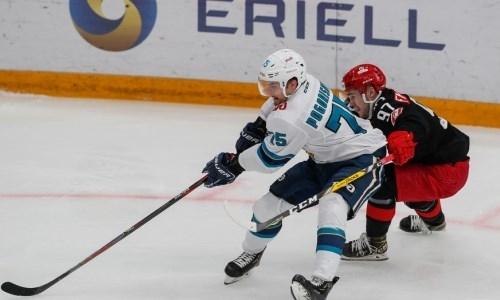 Клуб КХЛ проиграл матч с хет-триком перед игрой с «Барысом». Видео