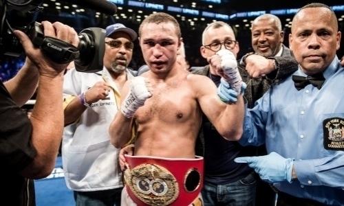 Уроженец Казахстана согласился на реванш за титул IBF после спорного первого боя