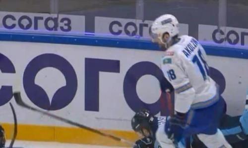 Видео шайб матча КХЛ «Сибирь» — «Барыс» 3:1
