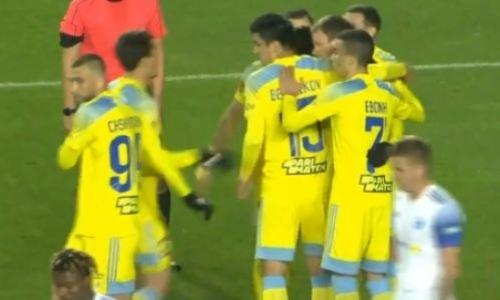 Когда соперника на поле нет. «Астана» разгромила «Окжетпес» перед матчем с «Кайратом»