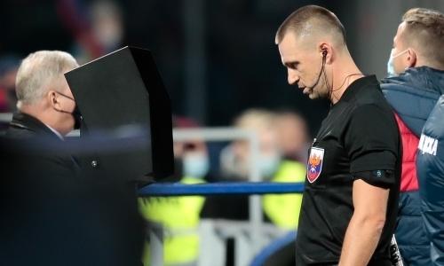 Футболист «Арсенала» отреагировал на пенальти, назначенный в пользу ЦСКА после его фола на Зайнутдинове