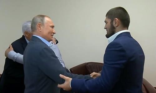 Владимир Путин пригласил Хабиба Нурмагомедова в Кремль после его решения завершить карьеру
