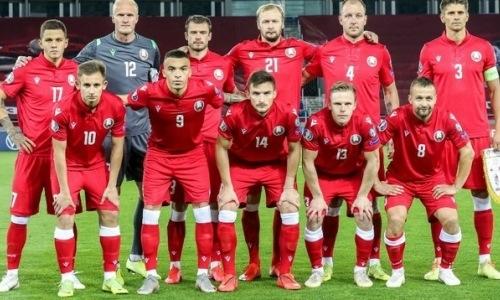 Футболисты «Астаны», «Кайрата» и«Жетысу» вызваны всборную Беларуси наматчи Лиги наций