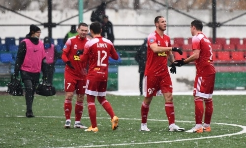«Актобе» продолжает победное шествие в Первой лиге