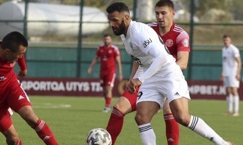«Атырау» не смог переиграть СДЮСШОР №8 в матче Первой лиги