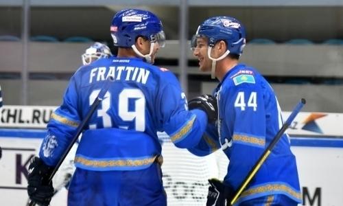 Силовой прием Фрэттина в матче «Барыс» — «Ак Барс» вошел в ТОП-4 лучших силовых приемов недели КХЛ