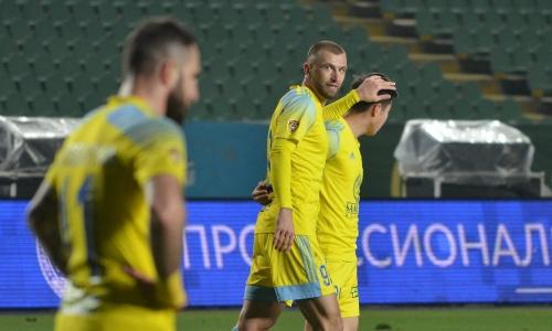 Нападающий «Астаны» забил 65-й мяч в Премьер-Лиге