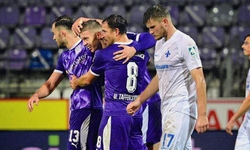 Немецкий клуб экс-игрока сборной Казахстана идет в сезоне без поражений