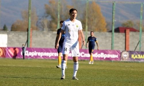 Полузащитник «Тобола» сыграл 50 матчей в Премьер-Лиге
