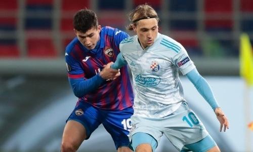 Зайнутдинов вышел в старте против загребского «Динамо» и помог ЦСКА не пропустить в Лиге Европы