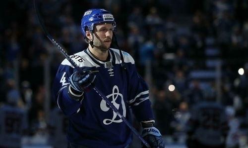 Бывший хоккеист «Барыса» выбыл до конца сезона КХЛ