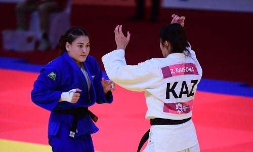 Женская сборная Казахстана по дзюдо приступила к УТС